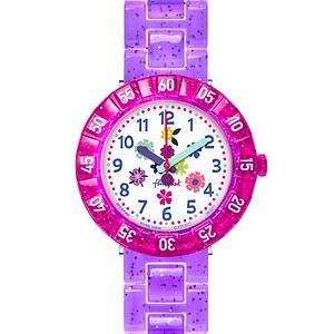 Flik Flak Uhren-Serie FCSP060 GREAT CAMPING Kinderuhr Power Time Girls (7+) Purple Garden
