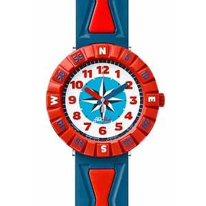 Flik Flak Uhren-Serie FCSP061 GREAT CAMPING Kinderuhr Power Time Boys (7+) Get it in Bred - 72225