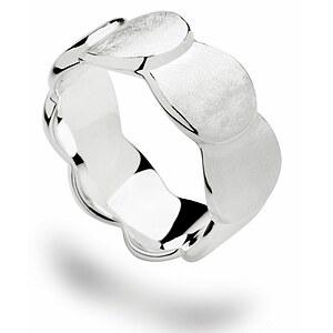 Bastian 12504 Inverun Silber Ring kratzmatt