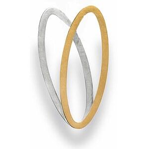Bastian 12549 Inverun Silber Anhänger teilvergoldet kratzmatt