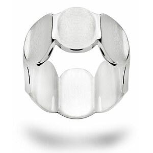 Bastian 12577 Inverun Silber Ring mattiert