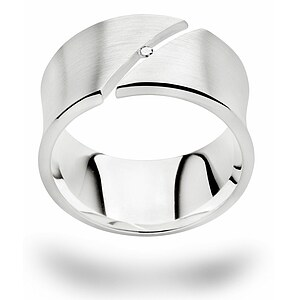 Bastian 12586 Inverun Silber Ring Diamant