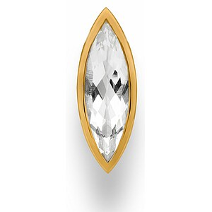 Bastian 12622 Inverun Pendant Silber vergoldet Anhänger Bergkristall