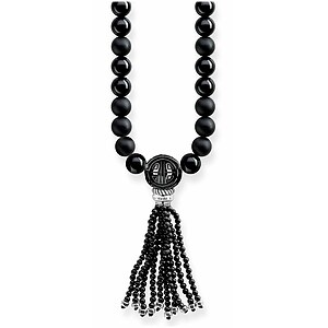 Thomas Sabo KE1676-704-11 GLAM & SOUL Obsidian Power Necklace Schwarz 90 cm - 72335
