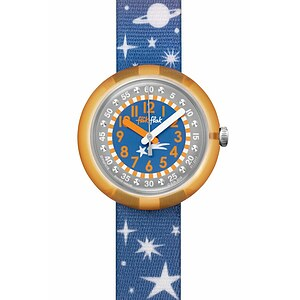 Flik Flak Uhren-Serie FPNP018 SPACE DREAMERS Kinderuhr Power Time Girls (5+) Staryway Kristalle - 72336