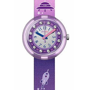 Flik Flak Uhren-Serie FPNP019 SPACE DREAMERS Kinderuhr Power Time Girls (5+) What a Blast Kristalle - 72337