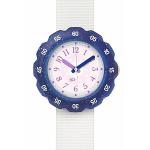 Flik Flak Uhren-Serie FPSP022 SPACE DREAMERS Kinderuhr Power Time Girls (5+) Misty Skies - 72338