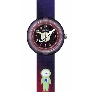 Flik Flak Uhren-Serie FPNP024 SPACE DREAMERS Kinderuhr Power Time (5+) Space Dreamer - 72339