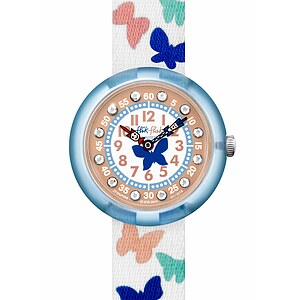 Flik Flak Uhren-Serie FBNP099 C'EST CHIC Kinderuhr Story Time Girls (3+) Papilletta