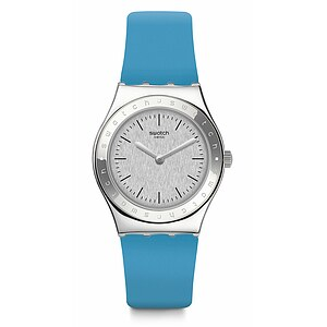 Swatch Uhr YLS203 TIME TO SWATCH  Irony Medium Brisebleue