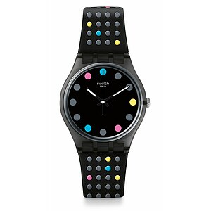 Swatch Uhr GB305 THE SWATCH VIBE Gent Boule a Facette - 72442
