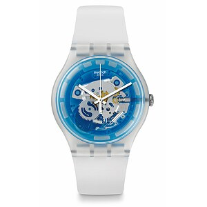 Swatch Uhr SUOK129 THE SWATCH VIBE  New Gent Blumazing - 72451
