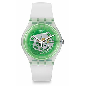 Swatch Uhr SUOK131 THE SWATCH VIBE  New Gent Greenmazing - 72453