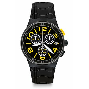 Swatch Uhr SUSB412 THE SWATCH VIBE New Chrono Plastic Pneumatic - 72454