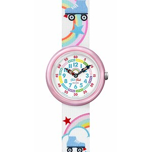 Flik Flak Uhren-Serie FBNP102 PLAY IT Kinderuhr Story Time Girls (3+) Roller Disco - 72485