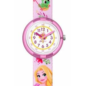 Flik Flak Uhren-Serie FLNP028 FRIENDS & HEROES Kinderuhr Girls (5+) Disney Rapunzel