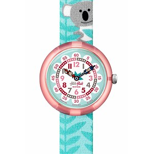 Flik Flak Uhren-Serie FBNP109 TROPICAL Kinderuhr Story Time Girls (3+) Coucouala - 72549