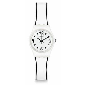 Swatch Uhr LW162 WORLDHOOD Original Lady Black Border