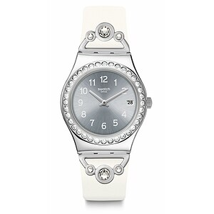 Swatch Uhr YLS463 IRONY Medium Pretty in White