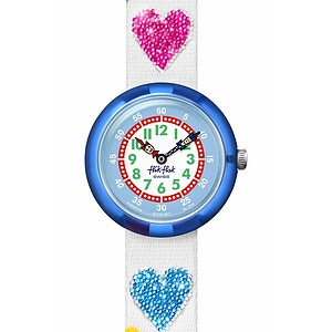 Flik Flak Uhren-Serie FBNP116 COLOR EXPLOSION Kinderuhr Story Time Girls (3+) Love my Heart - 72620