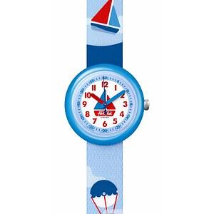 Flik Flak Uhren-Serie FPNP028 COLOR EXPLOSION Kinderuhr Power Time (5+) Sea Friends
