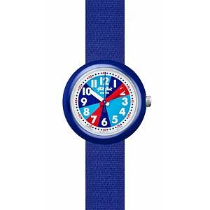 Flik Flak Uhren-Serie FPNP032 COLOR EXPLOSION Kinderuhr Power Time (5+) Blueish