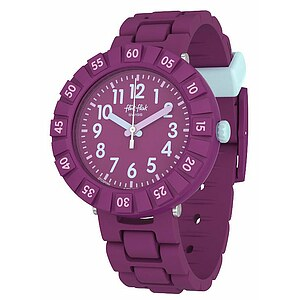 Flik Flak Uhren-Serie FCSP089 COLOR BLAST Kinderuhr Power Time (7+) Solo Purple - 72657