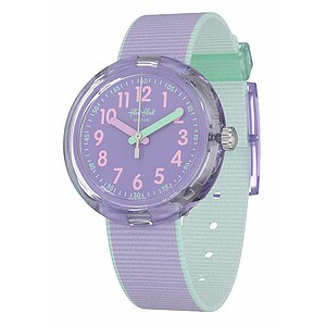 Flik Flak Uhren-Serie FPNP044 COLOR BLAST Kinderuhr Power Time (5+) Color Blast Lilac - 72659