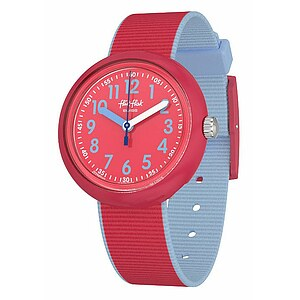 Flik Flak Uhren-Serie FPNP045 COLOR BLAST Kinderuhr Power Time (5+) Color Blast Red - 72660