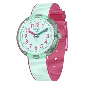 Flik Flak Uhren-Serie FPNP046 COLOR BLAST Kinderuhr Power Time (5+) Color Blast Turquoise - 72661
