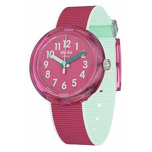 Flik Flak Uhren-Serie FPNP047 CREATIVE MANIFESTO Kinderuhr Power Time Girls (5+) Color Blast Pink