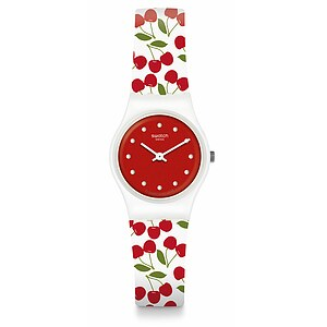 Swatch Uhr LW167 ENERGY BOOST Original Lady Cerise Moi