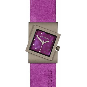 Rolf Cremer Uhren-Serie 492371 Damen TURN purple - 72740