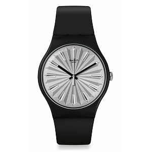 Swatch Uhr SUOB172 KNIGHTLINESS New Gent Silver Shield - 72910