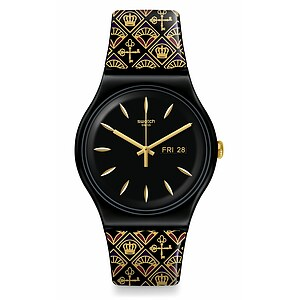Swatch Uhr SUOB730 KNIGHTLINESS New Gent Royal Key - 72911