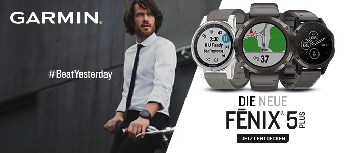 Garmin Fenix 5 PLUS - #BeatYesterday